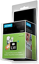 DYMO 1738541 LW Small Labels, 1-Inch x 2-1/8-Inch, White, Self-Adhesive, Roll of 500, for LabelWriter Label Makers