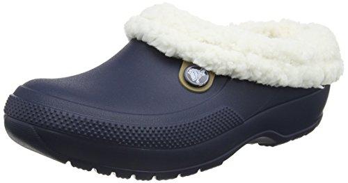 Crocs Classic Blitzen III Clog, Unisex - Erwachsene Clogs, Blau (Navy/oatmeal), 43/44 EU