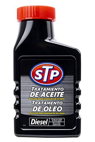 STP ST61300SP Tratamiento Coches Diesel 300 ML Mejora la viscosidad reduciendo el Consumo de Aceite, 300ml