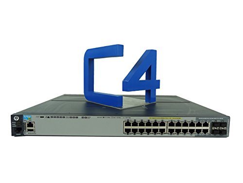 HP 2920-24G-POE+ Switch - Switch - managed - 20 x 10/100/1000 + 4 x combo Gigabit SFP - rack-mount