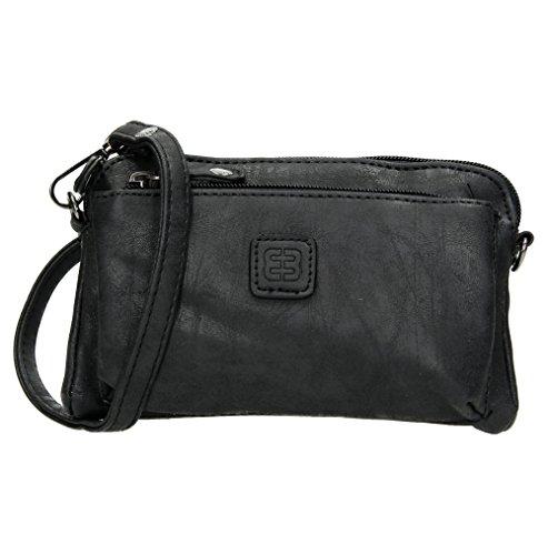 Enrico Benetti Mini Handtasche Ausgehtasche (schwarz)