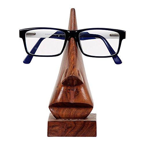 storeindya Gesichtsskulptur Draht Metall Mesh Brillenhalter aus Kupfer (Design 13)