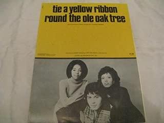 TIE A YELLOW RIBBON TONY ORLANDO 1973 SHEET MUSIC SHEET MUSIC 364