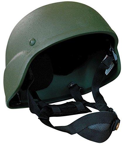 Commando Industries CI US Army Special Forces Helm verstellbar Motorradhelm Biker Einsatzhelm (Oliv)