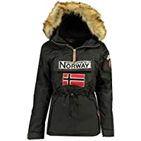 Geographical Norway Parka Mujer BOOMERA Negro 2