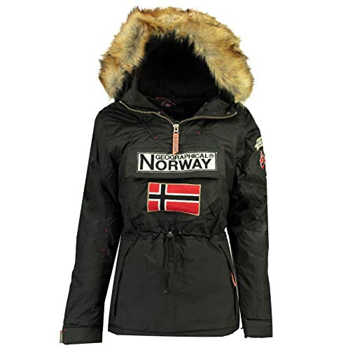 Geographical Norway Parka Mujer BOOMERA Ass B Negro 04