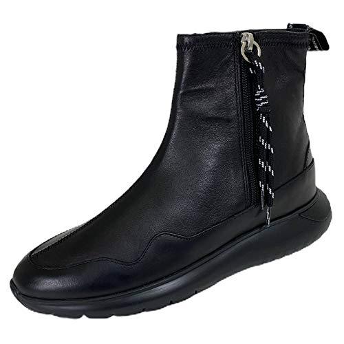 Hogan C16 Stivaletto Donna H371 INTERACTIVE3 Zip Black Boots Women [35]