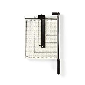 Nedis PACU110A4 Máquina de Corte de Papel | Tamaño A4 | Hoja de Metal