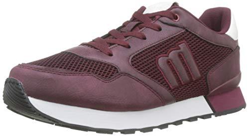 MTNG 84056, Zapatillas para Hombre, Rojo (Novi Burdeos/Soft PU Burdeos C45545), 44 EU