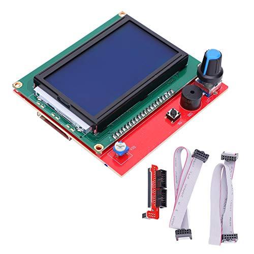 SALUTUYA Kit de Impresora 3D de Placa Base LCD de excelente Rendimiento 12864