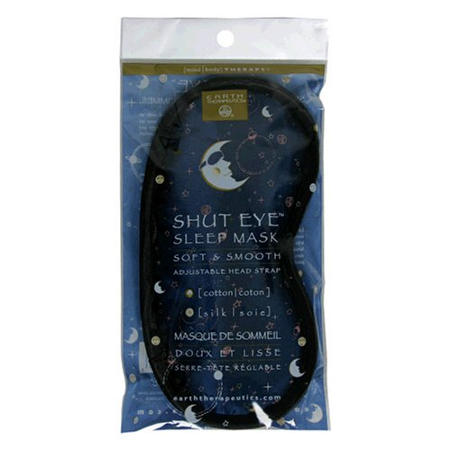 Earth Therapeutics Mind/Body Therapy Sleep Mask, Cotton, Silk, 1 mask (Pack of 2)