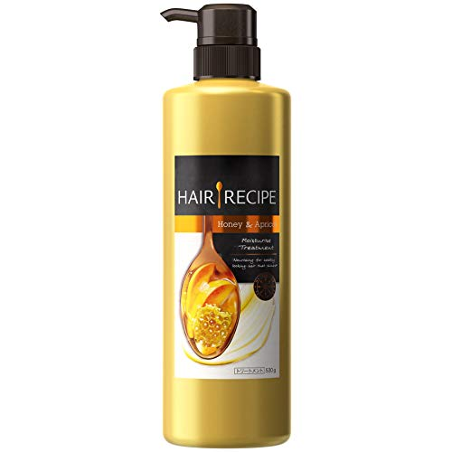 Japan Gezondheid en Schoonheid - Haar recepten wassen behandelingen Honing abrikoos Verrijkt Vocht recept body pump 530g *AF27*