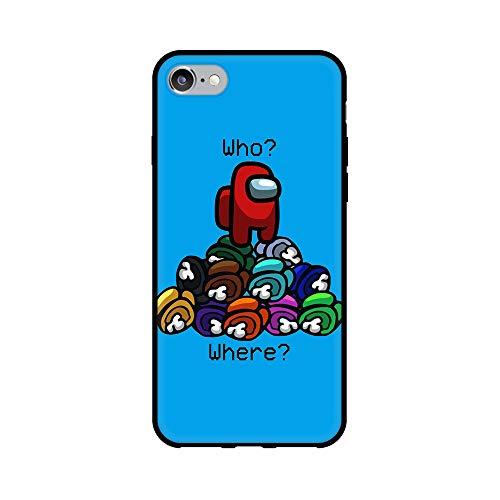 通用 iPhone 6 Plus Funda iPhone 6S Plus Funda Carcasa Silicona Piel Antigolpes TPU Protectora Suave Case Cover para Apple iPhone 6 Plus/iPhone 6S Plus (MG9)