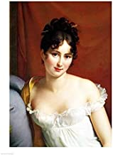 Posterazzi BALXIR215179LARGE Portrait of Madame Recamier Poster Print by Francois Gerard 24 x 36