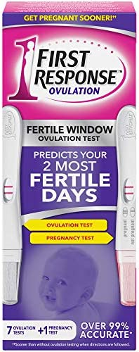 First Response Ovulation Test, 7-Test Kit Plus 1 Pregnancy Test