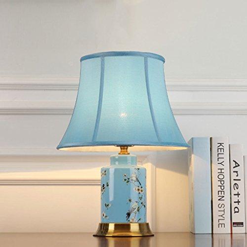 Europese breedte 33 cm * hoog 50 cm blauw persoonlijkheid creatieve slaapkamer bedlampje