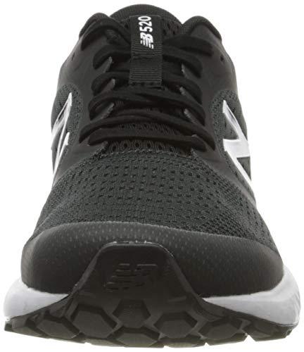 New Balance 520v6, Zapatos para Correr para Hombre, Negro (Black Lk6), 42.5 EU
