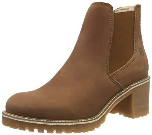 Tamaris Damen 1-1-25447-23 Chelsea Boots, Braun (Cognac 305), 40 EU