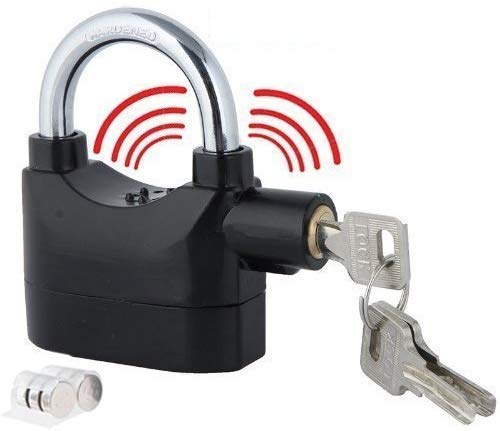 Surat Dream Anti Theft Motion Sensor Alarm Lock for Home Door gate Cycle Shop Bike Office Shutter