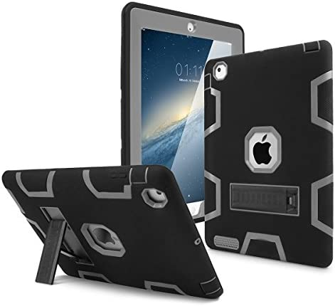 iPad 2 Case iPad 3 Case iPad 4 Case AICase Kickstand Shockproof Heavy Duty High Impact Resistant product image