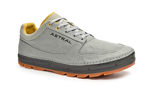 Astral Men's Hemp Donner Casual Minimalist Shoes, Breathable and Lightweight, Made for Outdoor Activities and Travel, Gray/Black, 11 M US