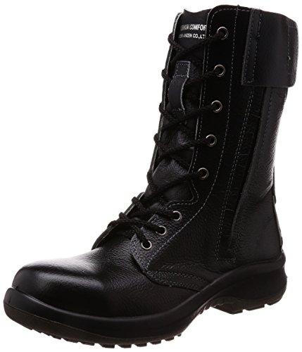 [ミドリ安全] 安全靴 JIS規格 女性用 長編上靴 プレミアムコンフォート LPM230F オールハトメ ブラック 23.5 cm 3E