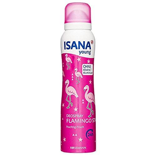 Deospray/Deodorant FLAMINGO STAR (fruchtig - frisch / 150 ml) SOMMERFRISCHE