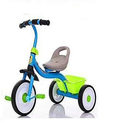 Laifeng Zimo, Dreirad-Balance-Roller, tragbares Fahrrad, ohne Fußpedal, Fahrrad, Baby Walker, Auto (schwarz) blau