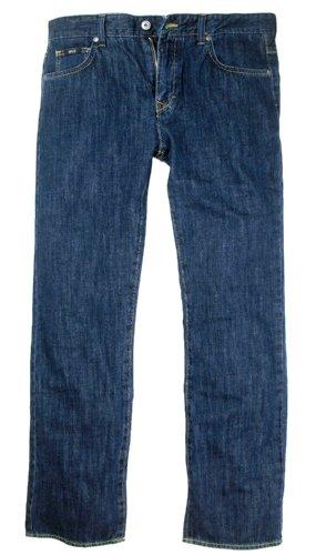 BOSS BLACK Jeans | Columbia ( Regular Fit ) navy blue 100% CO (W33/L36)
