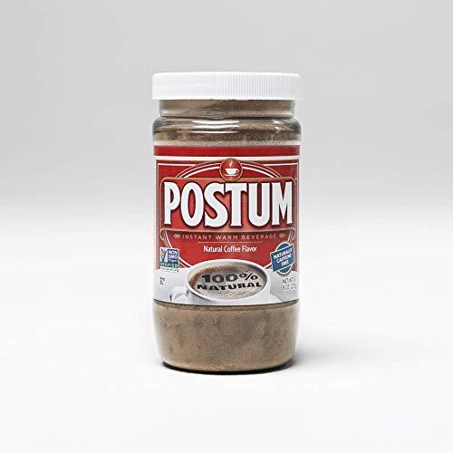 Postum Natural Coffee Flavor Coffee Alternative   Caffeine Free Coffee Substitute (8oz)   Natural Blend, Rich, Tasty, Healthy, Dietary Beverage for Breakfast, Gourmet & Pantry Pack