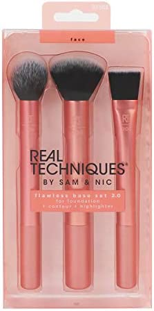 Real Techniques Flawless Base 2 0 Makeup Brush Set 91568 product image