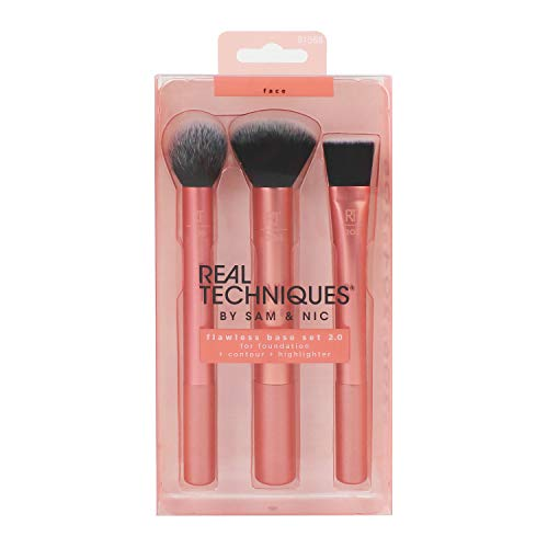 Real Techniques Flawless Base 2.0 Makeup Brush Set