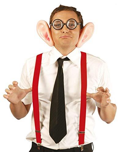 Fiestas Guirca Rouge Adulte Ajustement Suspenders