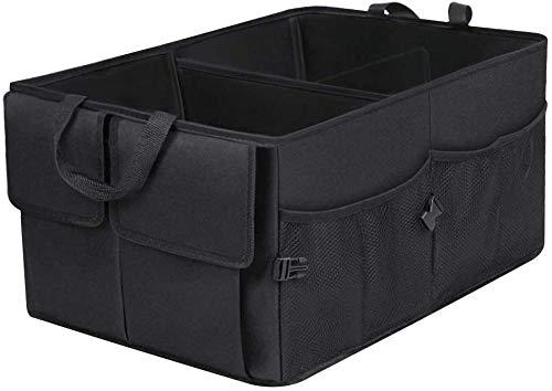 An image of the Car Boot Organiser, Tidy Storage Trunk Organizer, Foldable Car Storage Bag, Durable Car Boot Tidy, Super Large Volume, Durable for Rear SUV, Van, Auto Luggage