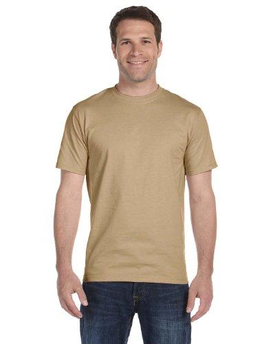Hanes Beefy-T Adult Short-Sleeve T-Shirt Pebble US 3XL