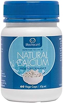 Lifestream Natural Calcium Capsule Pack of 60 by Lifestream