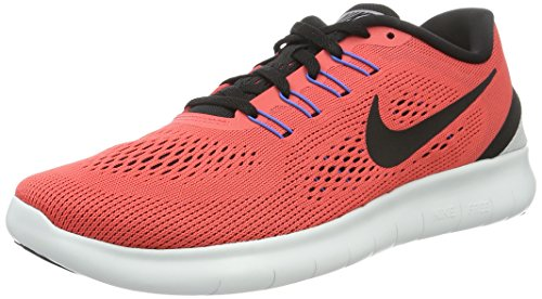 Nike Herren Free RN Low-Top, Rot (Ember Glow/Black-Wolf Grey-Blue Spark), 39 EU