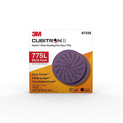 Multihole Hookit Film Disc 150/mm Pack of 50 3/M 64271/Cubitron Ii 775L 220/+