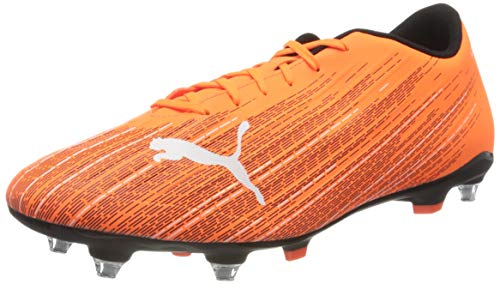 PUMA Ultra 4.1 MxSG, Scarpe da Calcio Uomo, Arancione (Shocking Orange Black), 39 EU