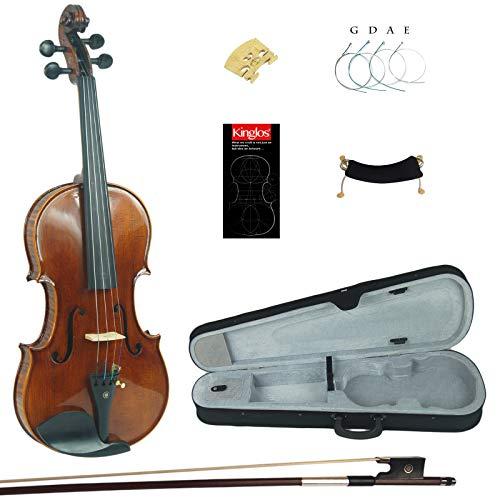 Kinglos 4 4 Fatto a Mano In Legno Massello Alunno Acustico Violino Kit - PHB1004