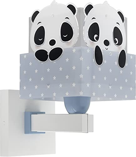 Dalber Aplique Infantil De Pared Panda Azul