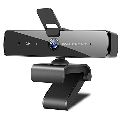 2K Webcam with Microphone & Privacy Cover, Walfront QHD Web Camera for Computer Desktop Laptop 5