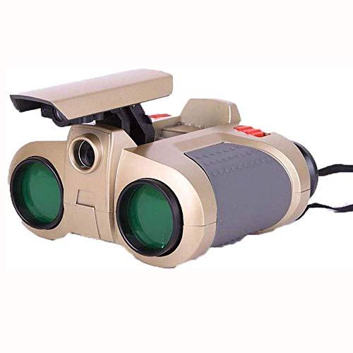 WNN-URG Kinderfernglas High Definition Multifunktionale wasserdicht Mini-Nachtsicht-Teleskop Vogelbeobachtung im Freien Wildlife Garden (4 x 30) URG