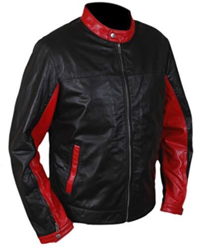 F&H Men's Christian Bale Batman Retro Jacket 2XL Black