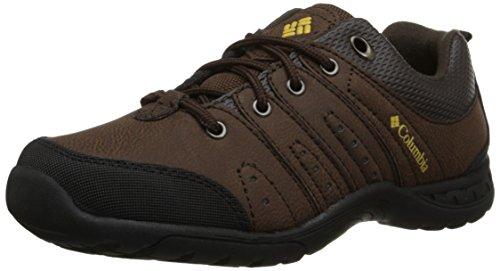 Columbia Youth Adventurer, Chaussures de Randonnée Basses Mixte Enfant, Marron (mud 255), 34 EU