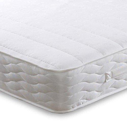 Cheap Beds Direct Titan Matelas double à ressorts en mousse visco-élastique 137 cm