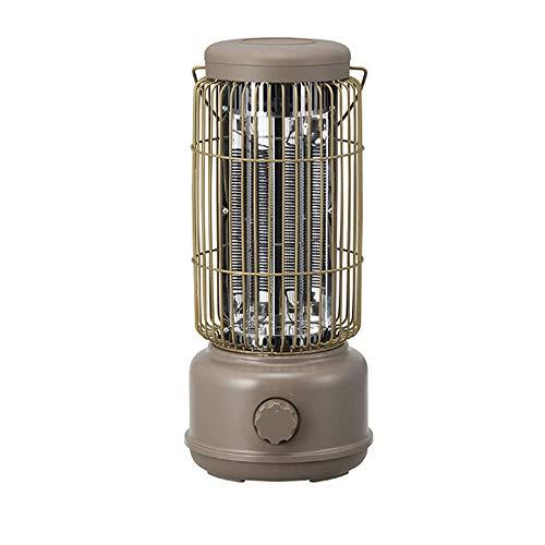 FENGZ Pequeña Cristal De Carbono Calentador,Casa Calentador Eléctrico,Ultra Silencioso Operación Ahorro De Energía Calentador,Blanco,600W