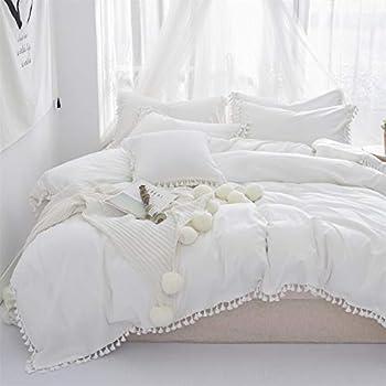 white twin xl bedding