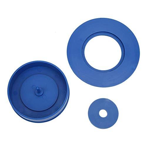 LSB-SHOWER Nuevo Nuevo neumático de Coche RC, para cementación de neumáticos de Modelo RC de Alta simulación de Tamiya, Adecuado para 1/10 1/16 Modelo de Coche RC (Azul)