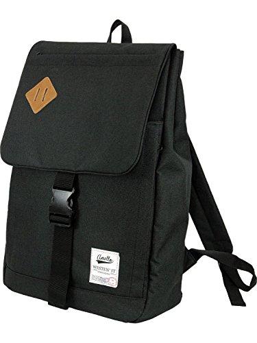 [アネロ] フラップ リュック LARGE TRIM AU-A0134 ブラック One Size